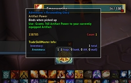 wow addon A Got Power