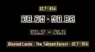 Accurate coordinates (DCOORDS)