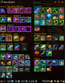wow addon AdiBags – BFA Zone Items