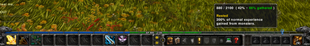 wow addon Advanced XP Bar