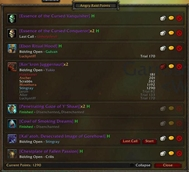 wow addon Angry Raid Points Client