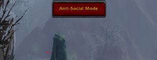 wow addon Anti-Social Mode