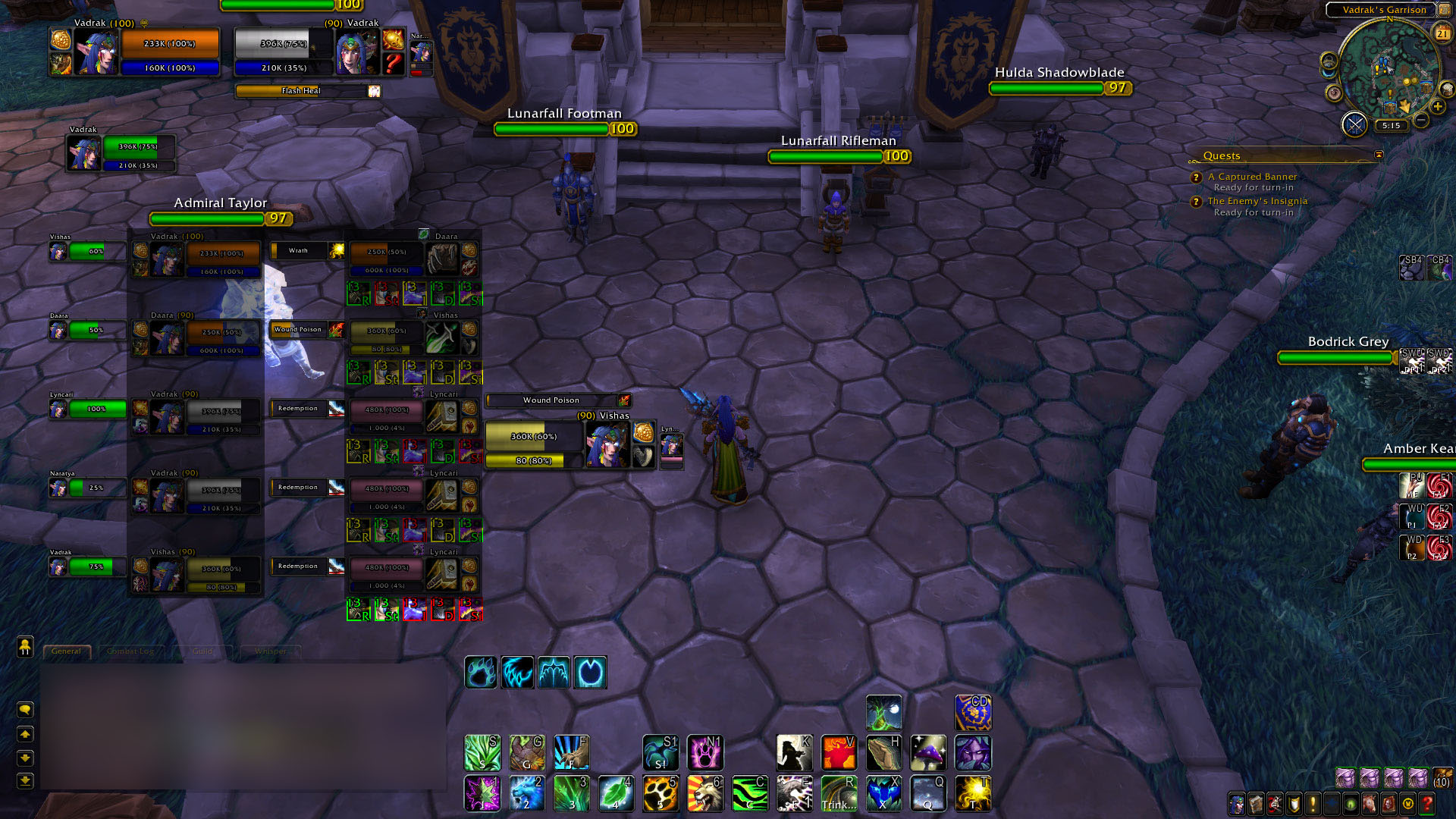 WoW ArenaLive [UnitFrames] addon bfa/classic 2019