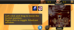 AtlasLoot Button
