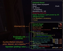 wow addon Auctioneer