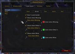 Auracle (De)Buff Monitor