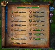wow addon Better Archaeology UI