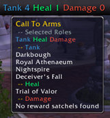 wow addon Broker: Call to Arms