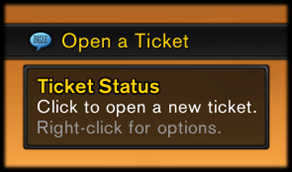 wow addon Broker Ticket Status