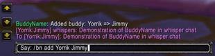BuddyName