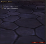 wow addon Buff Check