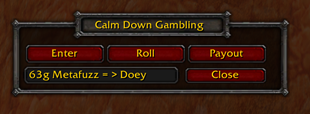 Calm Down and Gamble