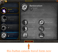 wow addon Cancel Form For Respec