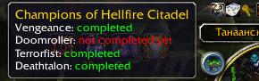Champions of Hellfire Citadel