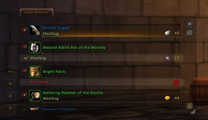 wow addon Chat Loot