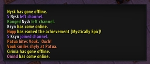 wow addon Chatter