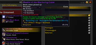 Checkmate Guild – Herod – Loot Priority Tooltips