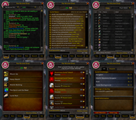 wow addon Classic Guild Frame