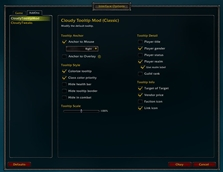 wow addon Cloudy Tooltip Mod (Classic)