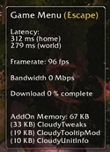 Cloudy Unit Info