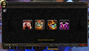 wow addon CollectionShop