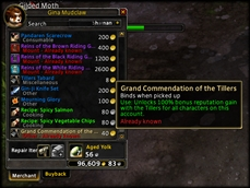 wow addon Commended