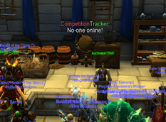 wow addon Competition Tracker