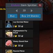 Cooky Item Splitter