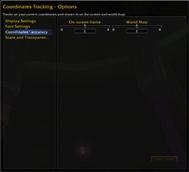 Coordinates Tracking