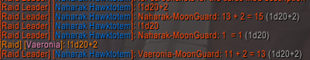 wow addon Dice Roller