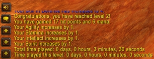 wow addon DingPlayed