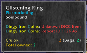 Dingy Iron Coins Calculator