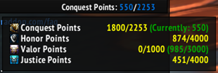 ElvUI Currency Cap Datatext