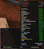 wow addon ElvUI System Datatext