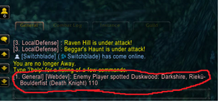 wow addon Enemy Spotted Announcer