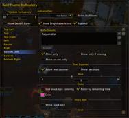 wow addon Enhanced Raid Frame: Indicators