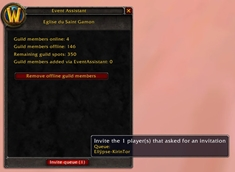 wow addon EventAssistant
