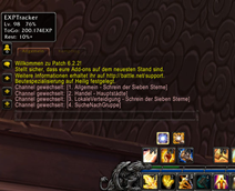 wow addon EXPTracker