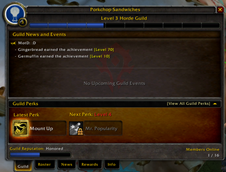 wow addon Extended Guild UI