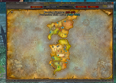 wow addon Extended Map Zone Info