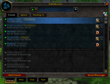 wow addon Extended Social UI