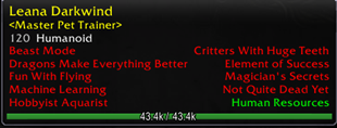 wow addon Family Battler Tooltip