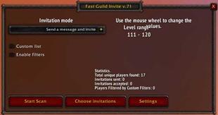 Fast Guild Invite