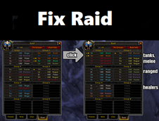 wow addon FixRaid