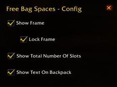 Free Bag Spaces