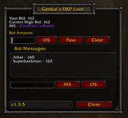 Genkai's DKP Loot System – Classic