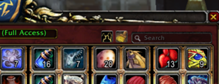 wow addon Gnobesy: Guild Bank Enhancement System