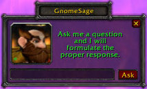 wow addon Gnome Sage