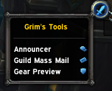 wow addon Grim\'s Tools