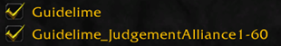 wow addon Guidelime_JudgementAlliance1-60